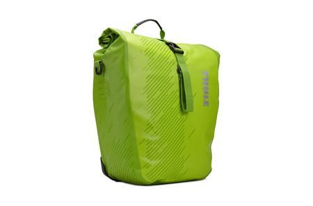 Shield Pannier Large (pair) - Chartreuse