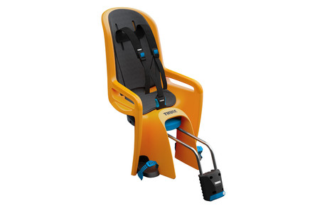 RideAlong Child Bike Seat Warm Yellow