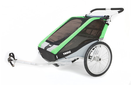 Chariot Cheetah2+Cycle,Green 14-X