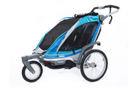 Chariot Chinook2+Stroll/Jog, Blue 2014