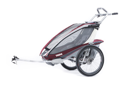 Chariot CX1+Cycle,Burgundy 14-X