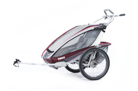 Chariot CX2+Cycle,Burgundy 14-X