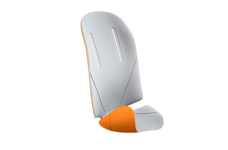 RideAlong Padding Light Grey/Orange