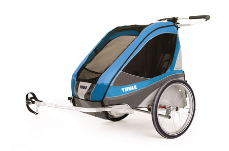 Chariot Corsaire2+Cycle, Blue
