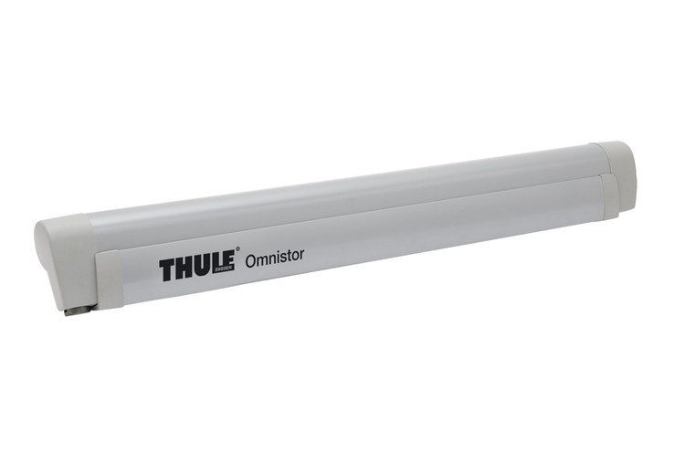 Thule omnistor 5102 light grey awning van WV T5 wall mounted