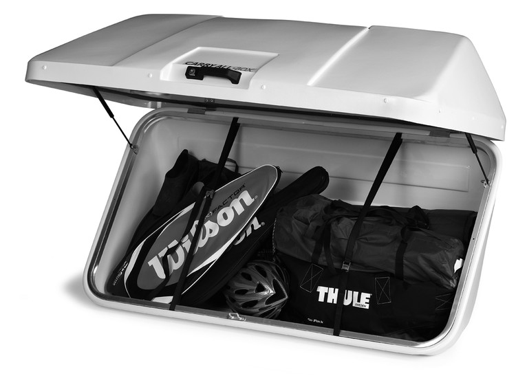 Thule carry all storage caravan van motorhomes rear mounted open