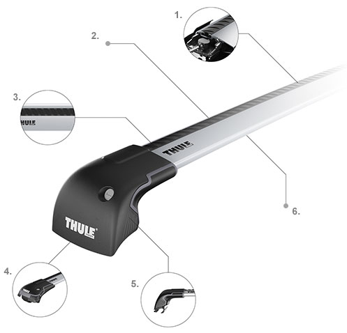 Thule WingBar Edge | Thule AeroBlade Edge Features