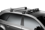 Wind fairing Thule AirScreen on car