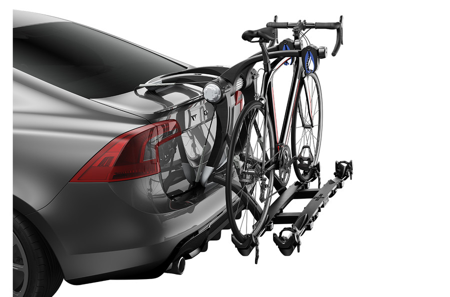 top thule outride mounted rack roof product carrier ba bike world