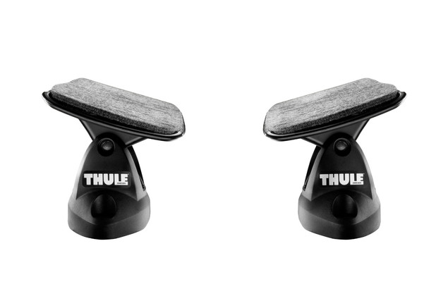 Felt Lined Saddles for kayak loading - Thule Hydro-Glide 875XT