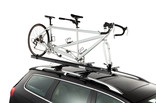 Roof bike rack-Thule Tandem Carrier 558P-On a car