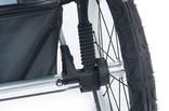 Rear suspension of stroller Thule Glide