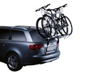 Trunk bike rack Thule ClipOn High 2 on car