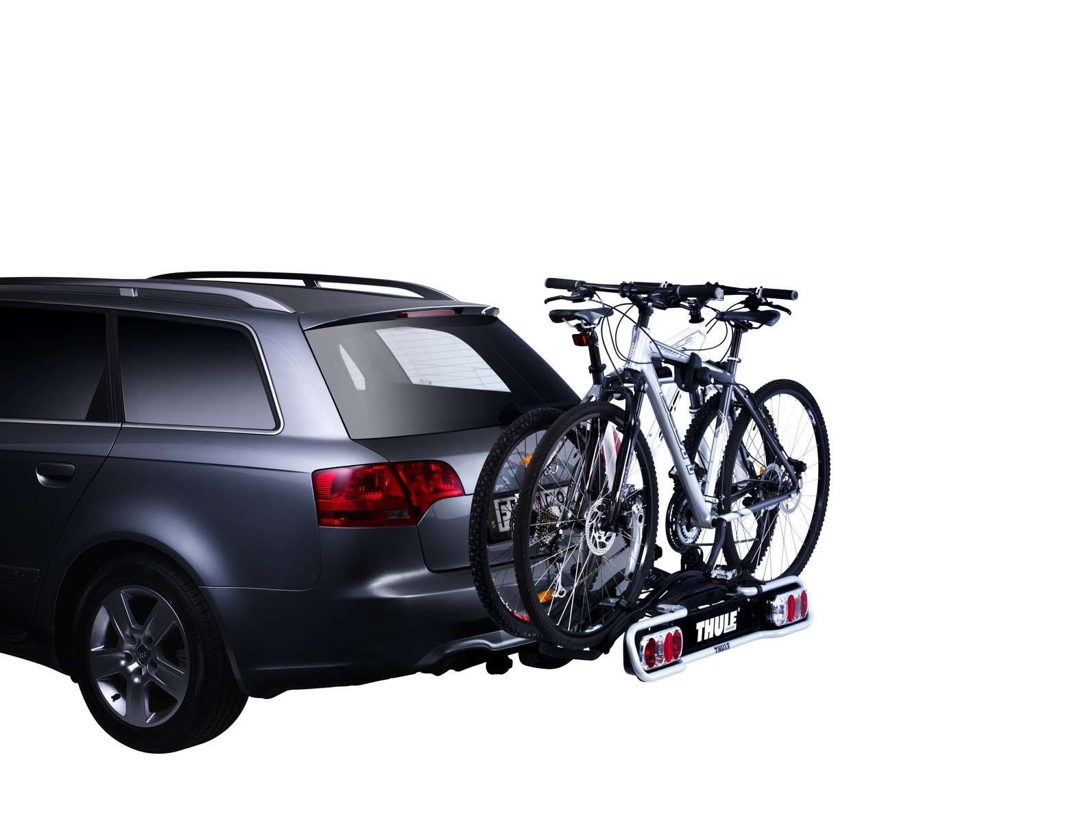 Bike rack Thule EuroRide 2 13-pin on car