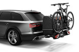 Thule BackSpace XT 938300 on car with 3rd bike arm