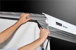 Mounting the Thule Rain Blocker G2 panel