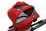 Canopy of stroller Thule Sleek Energy Red