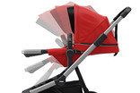 Reclining seat EnergyRed of buggy Thule Sleek
