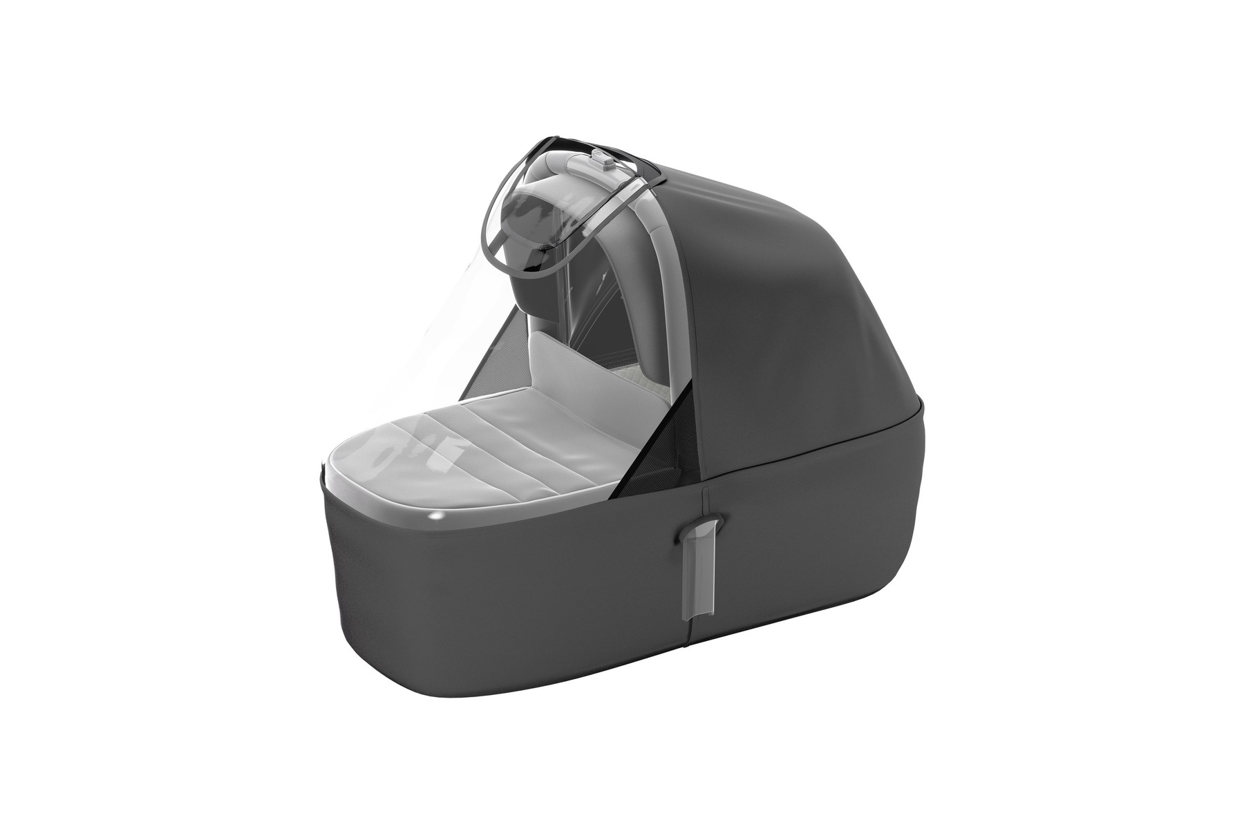 Thule Sleek Bassinet Rain Cover Ghost
