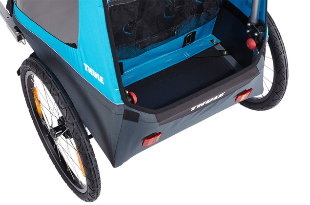 Thule Coaster XT Blue - extra storage space