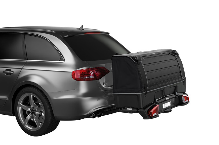 Cargo carrier Thule Backspace on Thule VeloSpace