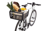 Thule Pack 'n Pedal basket on the rear of the bike