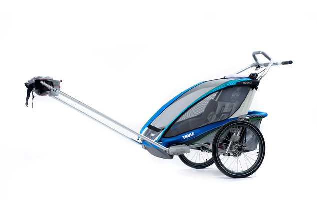 Thule Chariot CX2 Blue Hiking