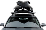 DualSide opening of roof box Thule Dynamic