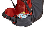 Thule Versant 60L Mens zippered hipbelt pockets