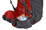 Thule Versant 70L Men zippered hipbelt pockets