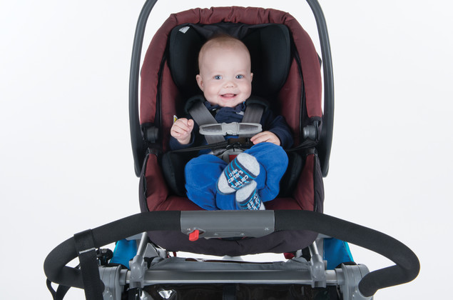 Thule chinook blue car seat
