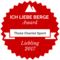 Liebling award from ICH LIEBE BERGE for Thule Chariot Sport