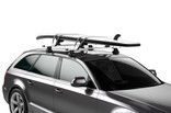 Thule DockGrip on car WingBar supboard ROW