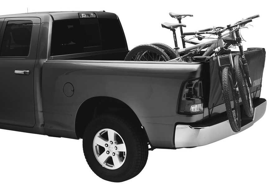 Foam Padding Protects Both Bike And Truck Tailgate With Ultra Durable Heavy Duty Vinyl