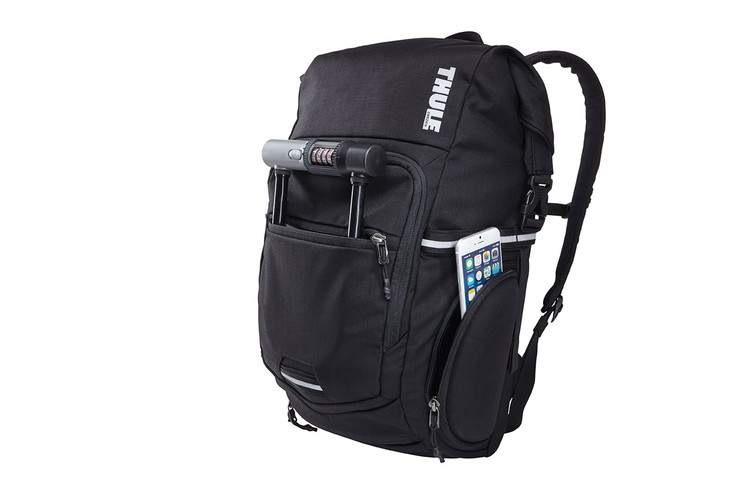 Safezone compartment on Thule Pack 'n Pedal Commuter Backpack