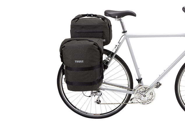 Thule Pack 'n Pedal Trunk Bag on bike