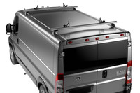 Thule TracRac Van ES on car