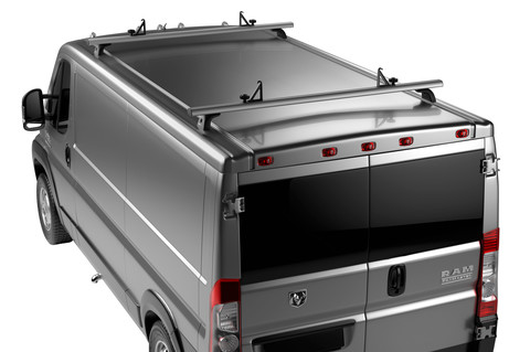 Thule TracRac Van ES (Mercedes-Benz Sprinter w/Fixed Points, 10-17)