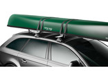 Canoe racks Thule Portage 819 on car