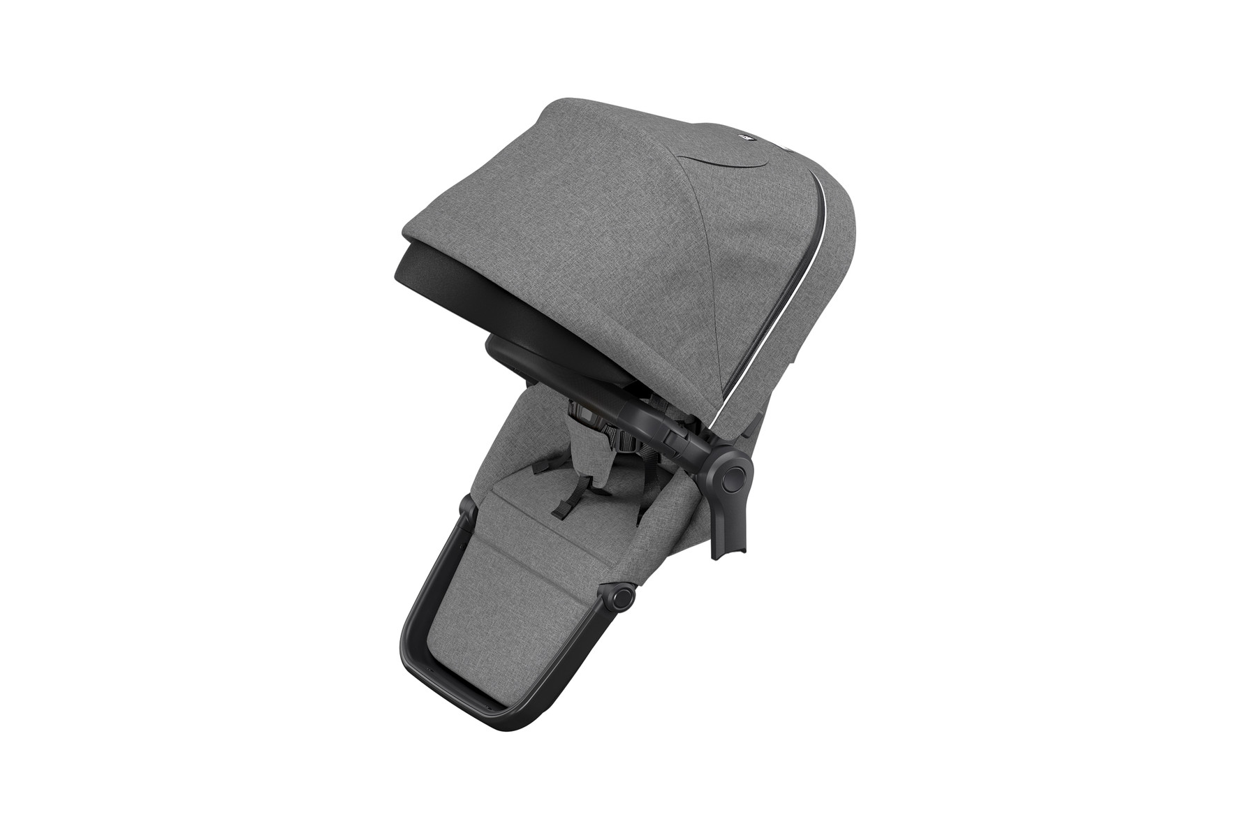 Thule Sleek Sibling Seat - Gray Melange/Black