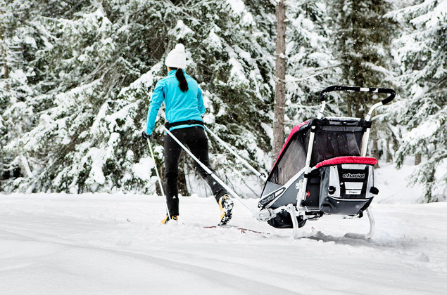 Thule Crosscountry ski lifestyle