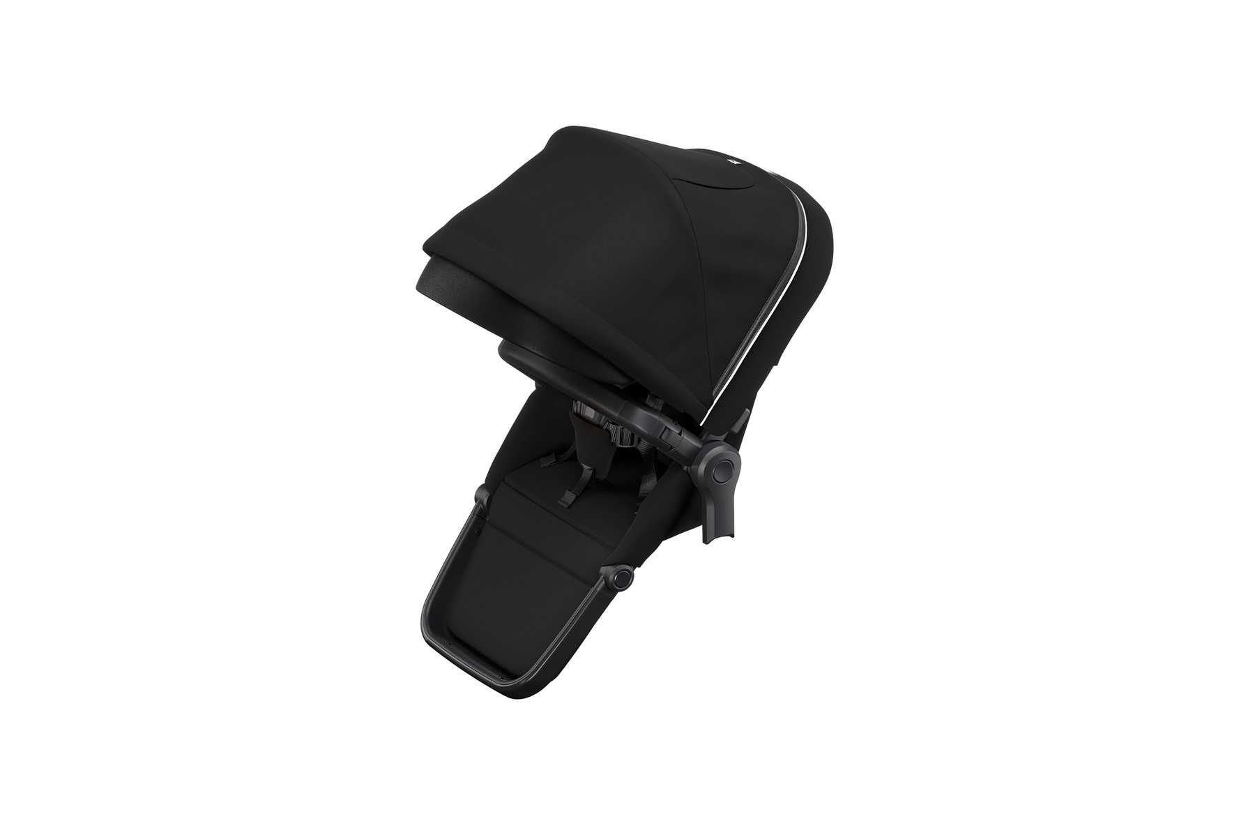Thule Sleek Sibling Seat MidnightBlack on Black