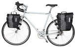 Thule Shield Panniers on bicycle