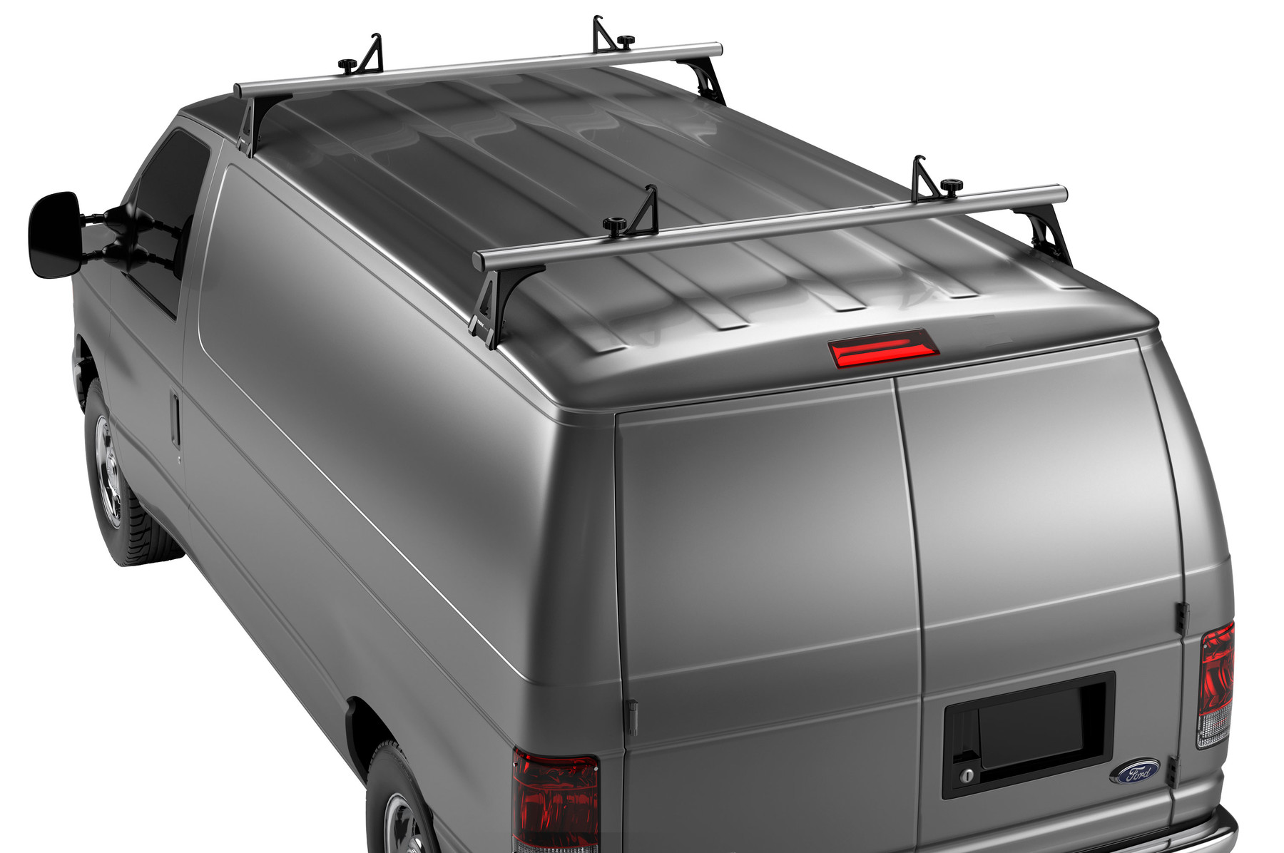 Thule TracRac Van 29055XT on car