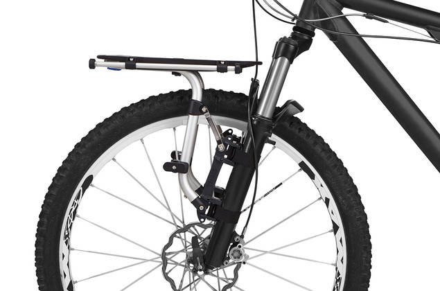 Thule Pack 'n Pedal Tour Rack on front fork