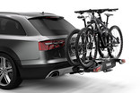 Thule EasyFold XT 2 bike on car 933101