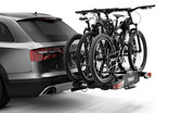 Thule EasyFold XT 3 bike on car 934101