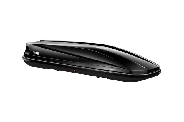 Black roof box Thule Touring 700