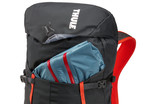 Thule AllTrail 25L side zipper compartment and front pocket