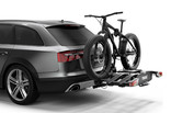 Thule EasyFold XT 3 bike on car with fatbike 934100